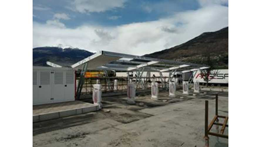 Valle d'Aosta, Italy Will Get Largest Tesla Supercharger - 14 Stalls