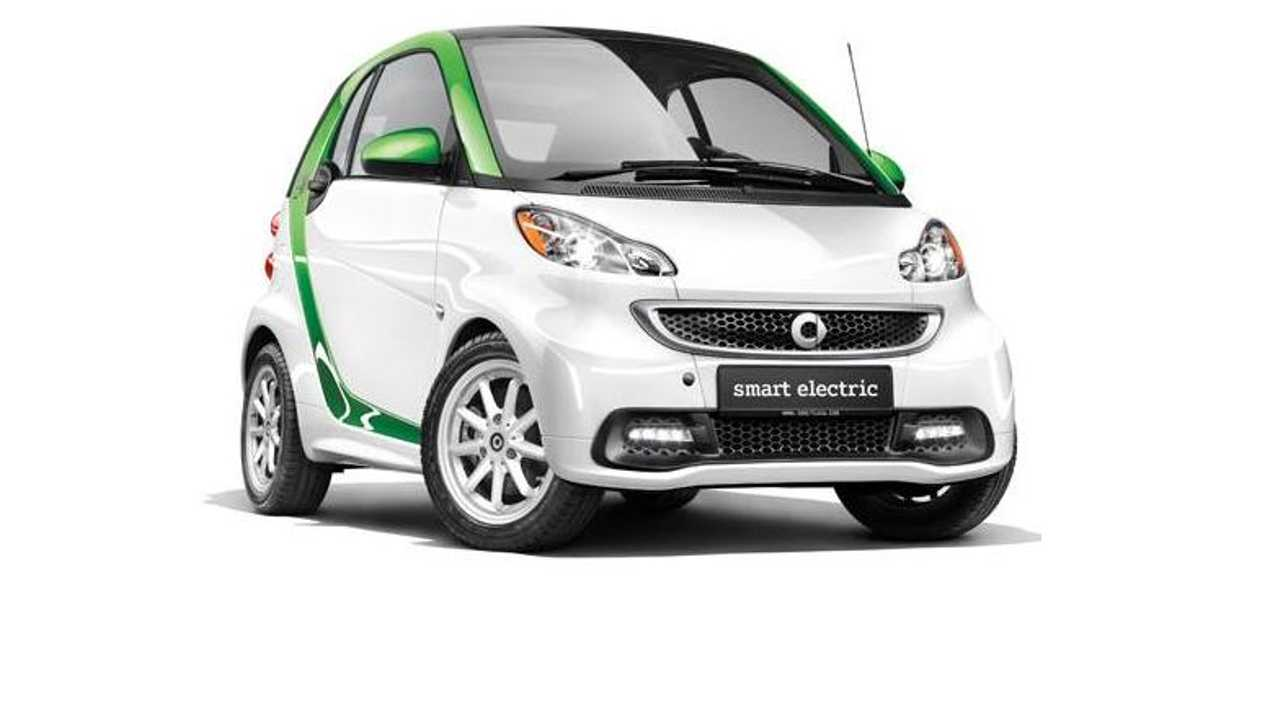 Smart Fortwo Electric Drive Recalled