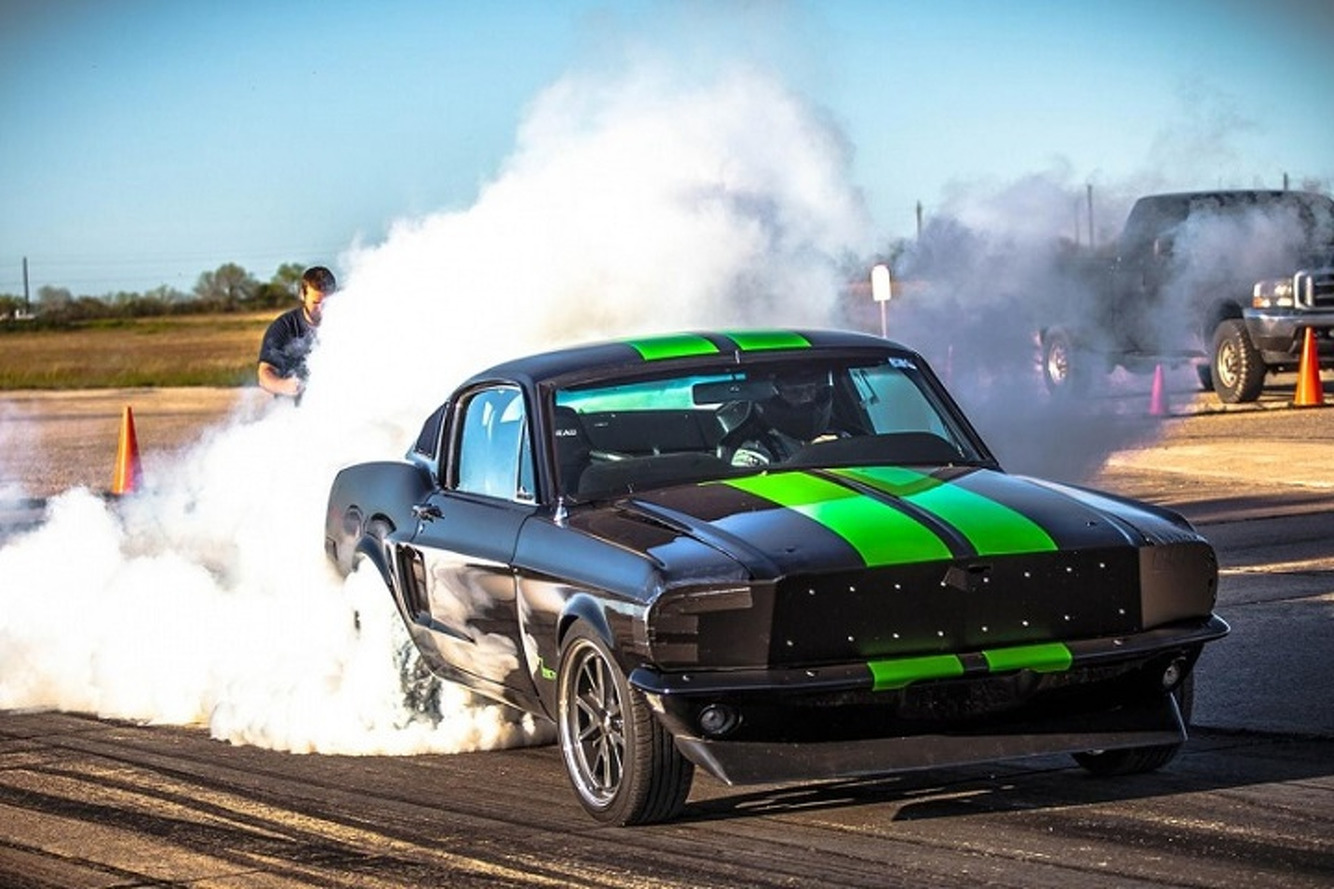 Electric 1968 Mustang Hits 60 in 2.0 Seconds and Eats Teslas for Breakfast