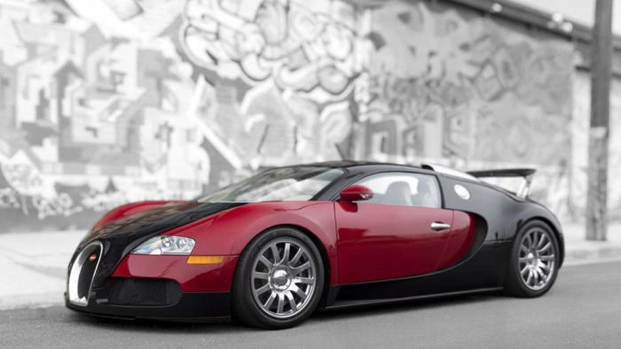 First Bugatti Veyron going up for auction