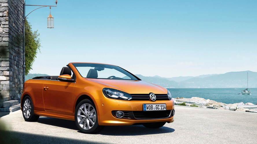 Volkswagen Golf Cabriolet facelifted