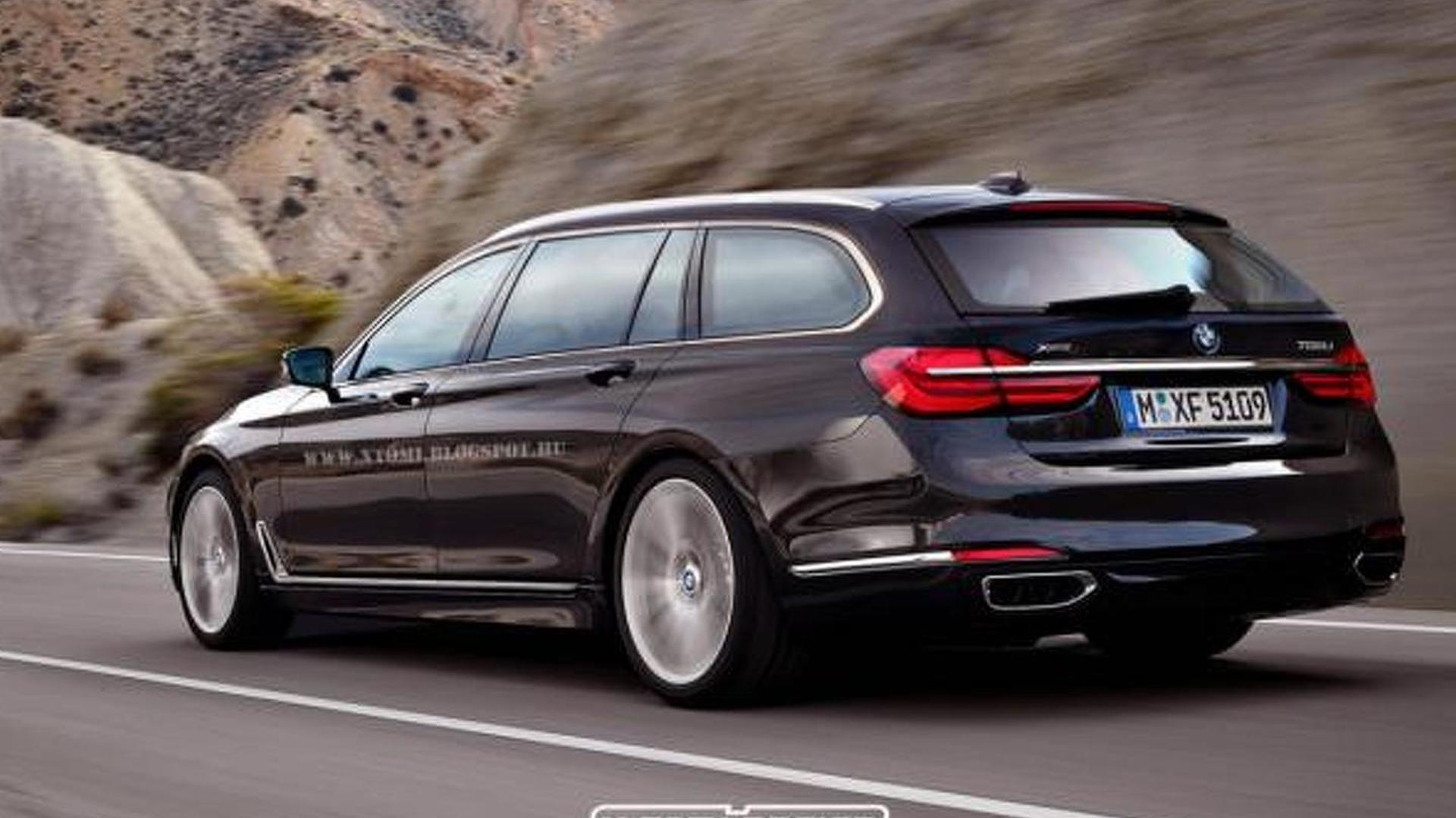 2016 BMW 7-Series rendered in ...