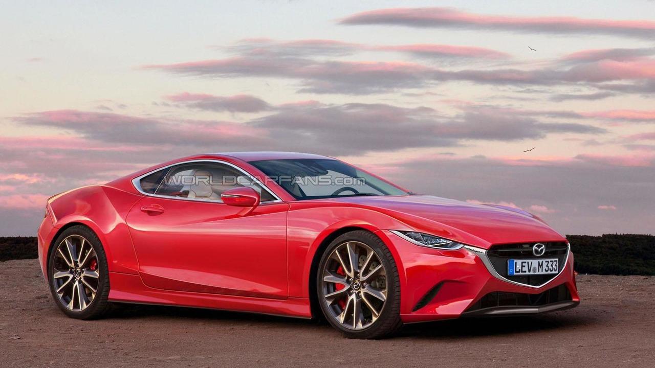 Mazda RX-7 rendering