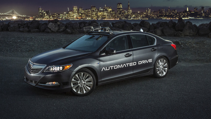 New Acura RLX autonomous prototype gets smaller sensors