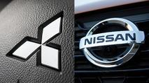 Nissan Mitsubishi logos