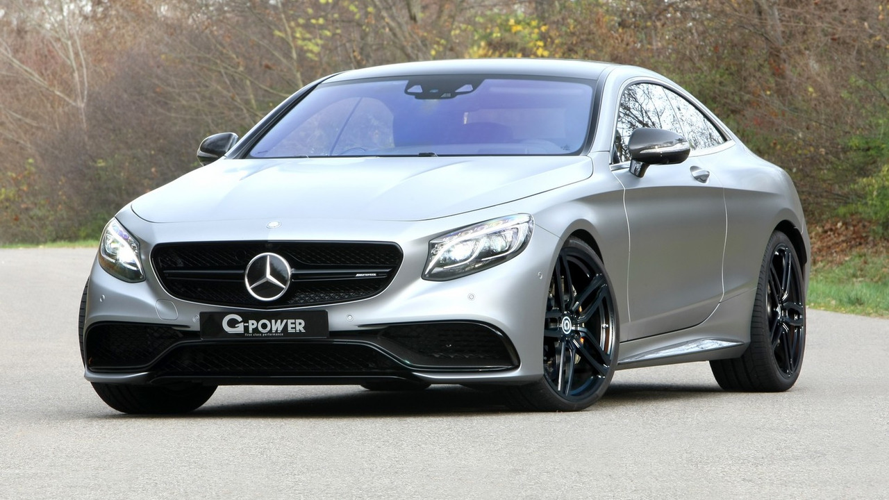 Mercedes-AMG S63 Coupe by G-Power