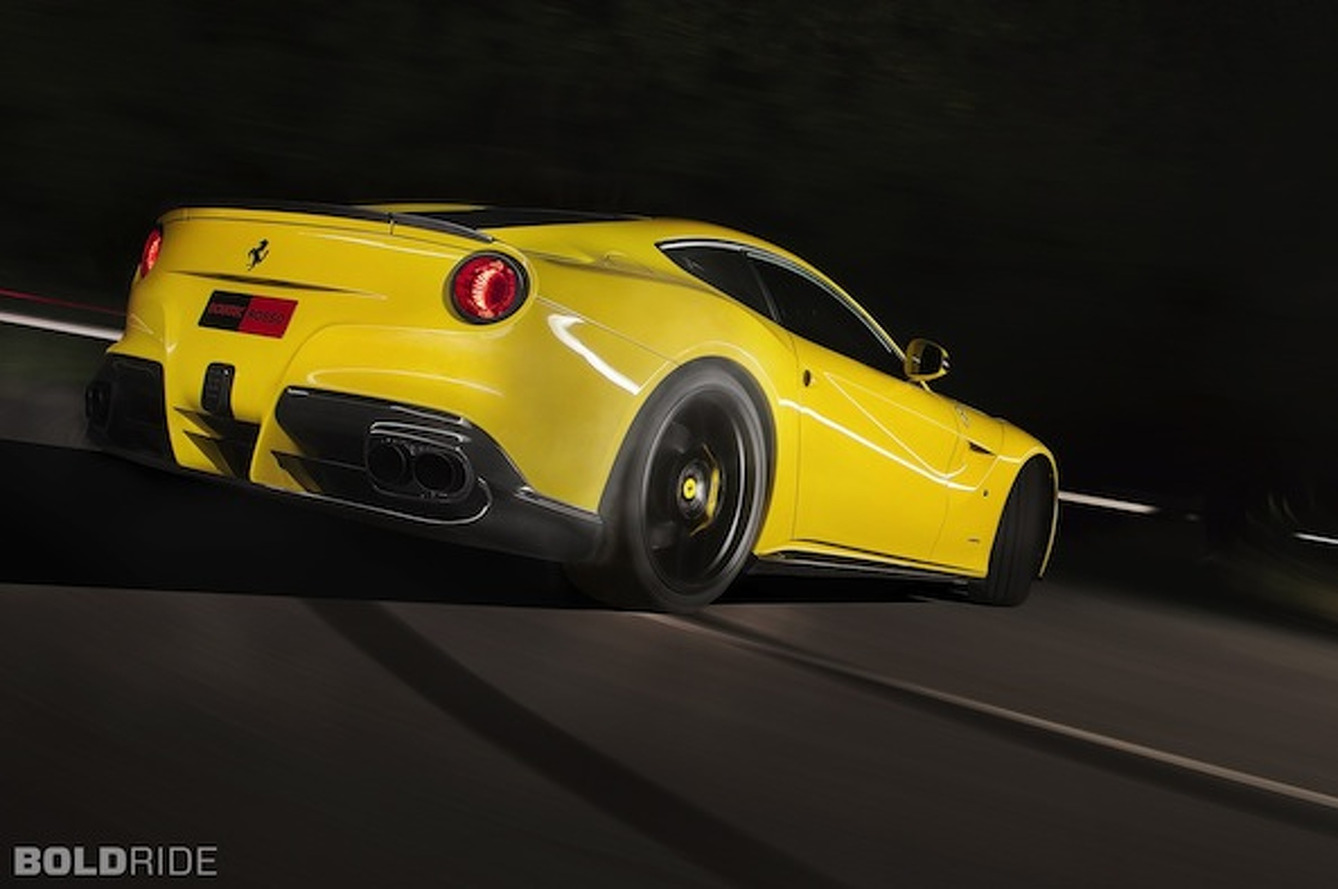 Wheels Wallpaper: Novitec Rosso Ferrari F12berlinetta