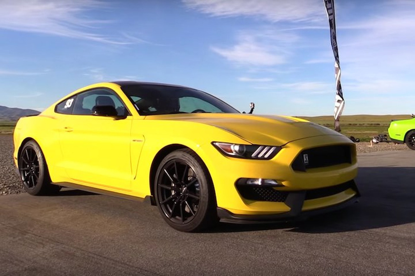 Can A Shelby GT350 Outgun a Dodge Challenger Hellcat? You Might Be Surprised