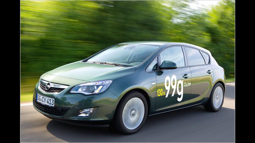 Opel Astra ecoFlex: Sauber und sparsam