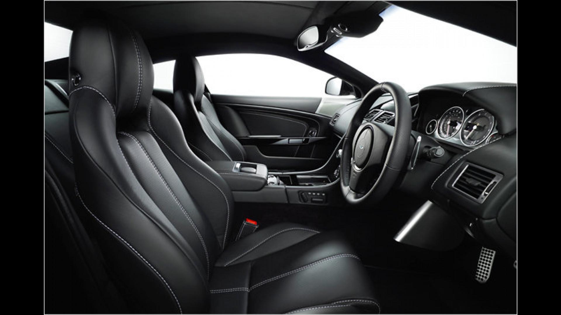Aston Martin Db9 Editionen In Schwarz Silber Und Weiß