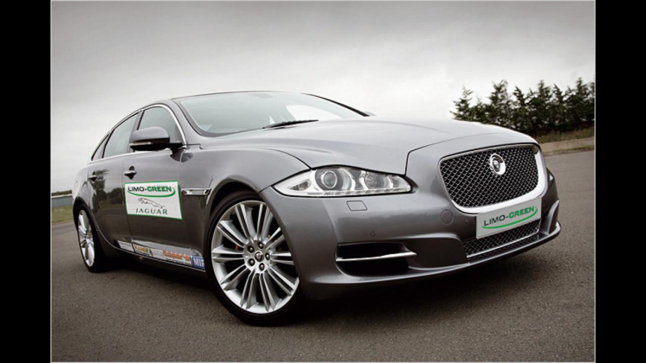 Jaguar zeigt Öko-XJ