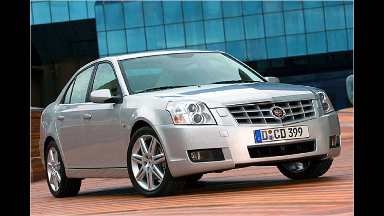 Cadillac BLS und Saab 9-3