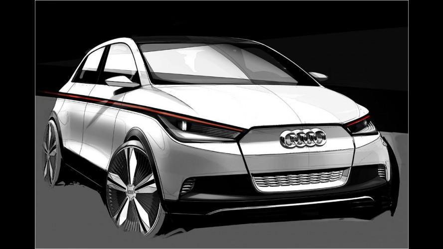 Audi A2 Concept: Irgendwo zwischen VW Up! und Audi A1