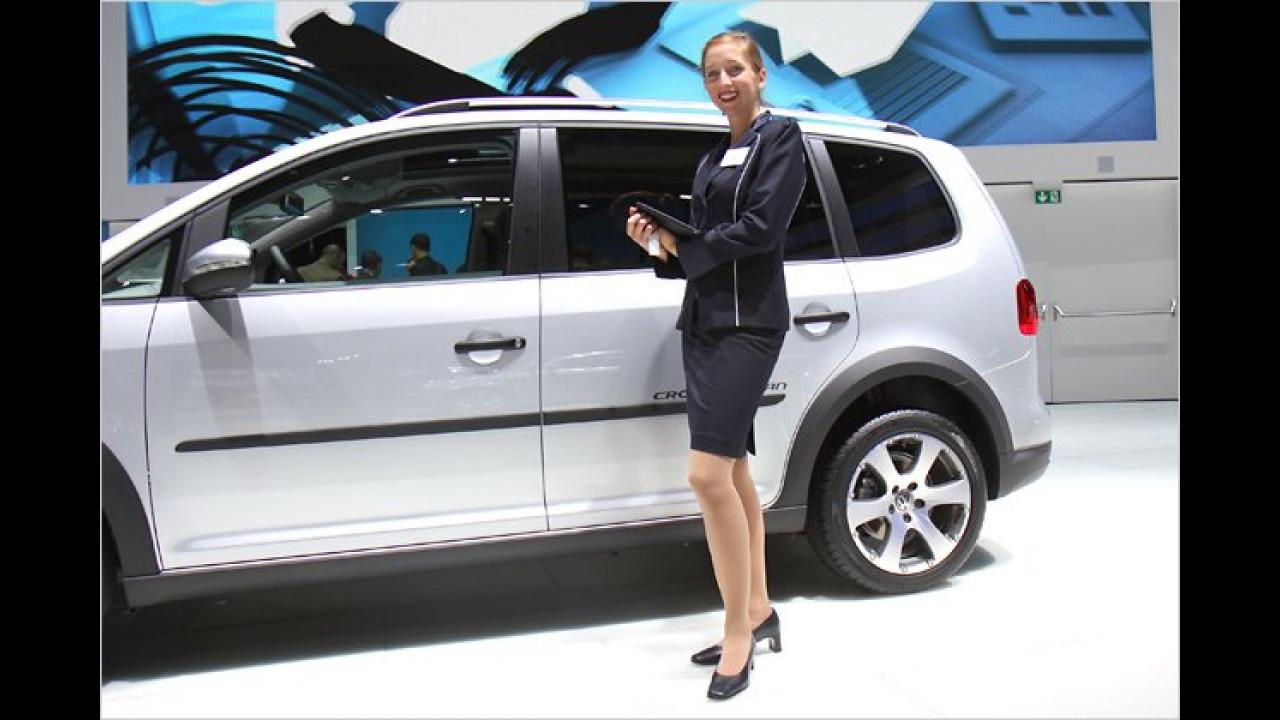 Auch bei VW werden wir freundlich empfangen ...