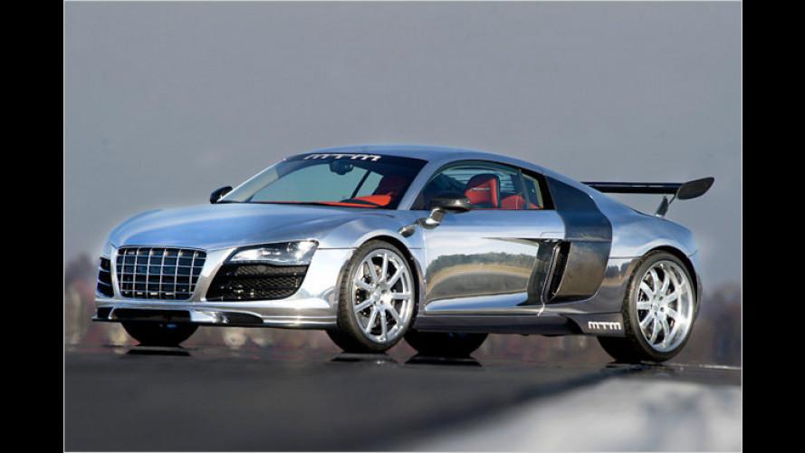 Silberpfeil anno 2011: Audi R8 mit fast 800 PS von MTM