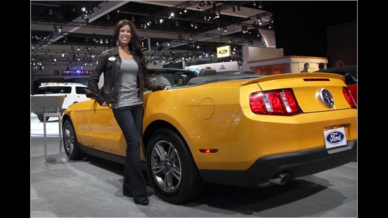 Sie haben aber einen schicken Mustang!