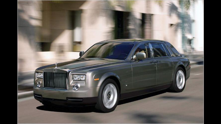 Schicker Schlitten: Rolls-Royce bringt Phantom-Facelift