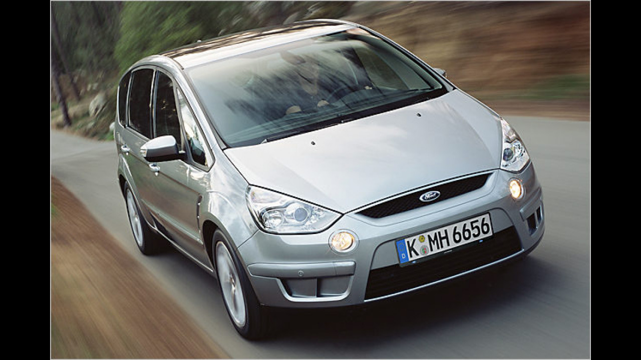 Ebenfalls 2006 in Genf am Start: Der Ford S-Max