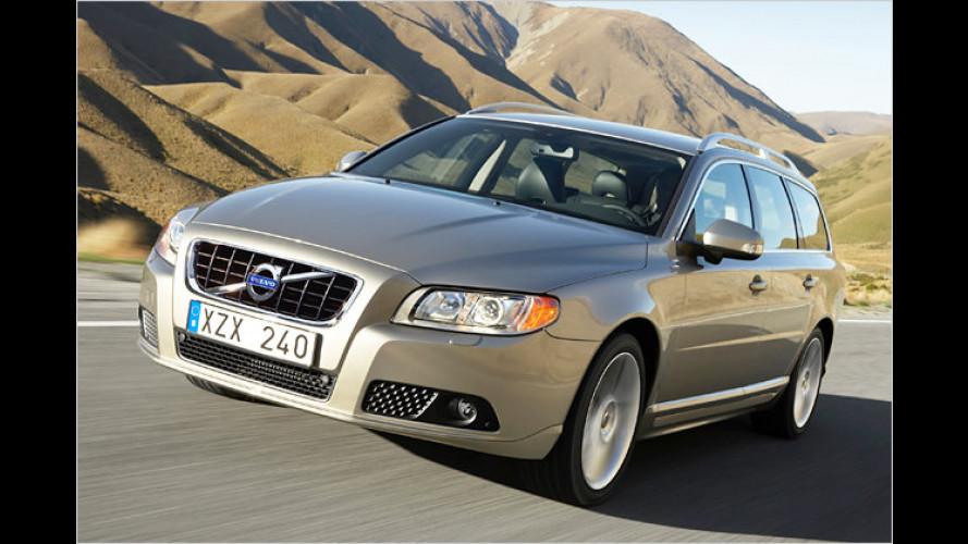Volvo V70 und S80 jetzt noch sparsamer