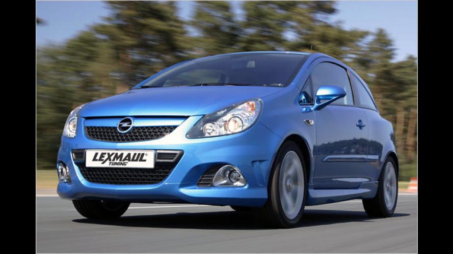 Mehr Leistung per Chip: Lexmaul powert Opel Corsa OPC