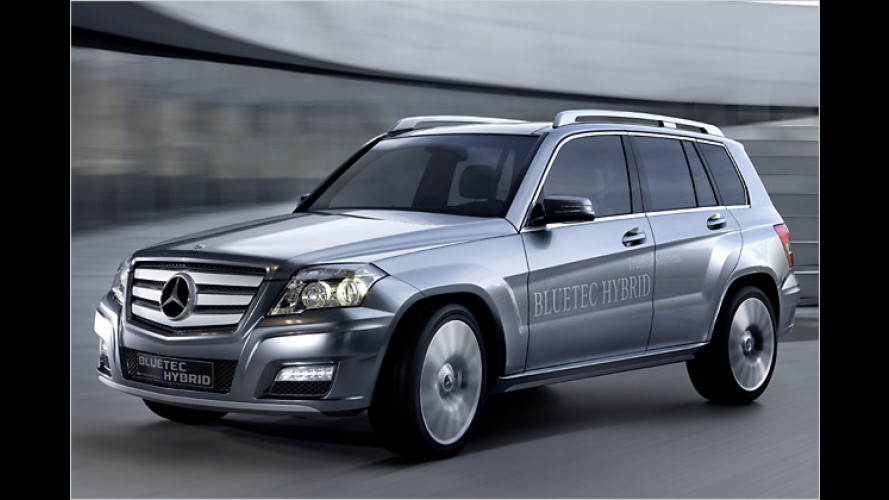 Mercedes zeigt in Genf die Studie Vision GLK Bluetec Hybrid
