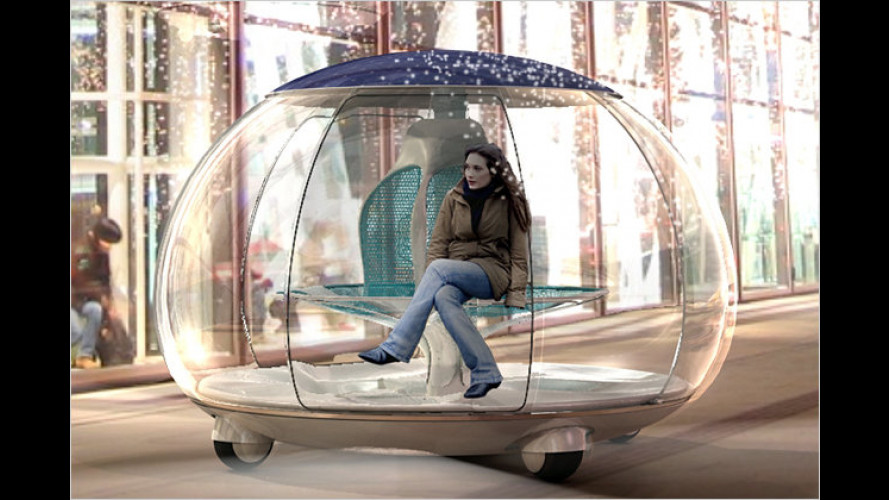 Laternenparker der Zukunft: Car on a Stick