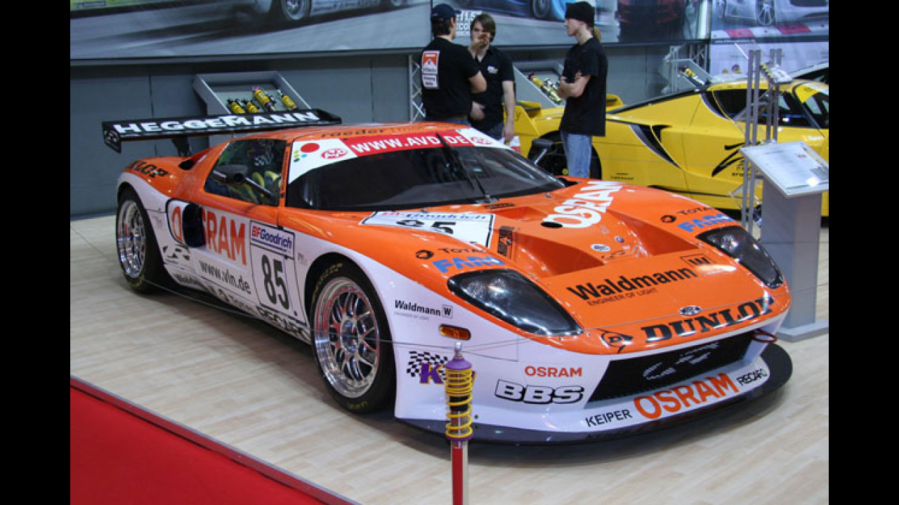 Raeder Motorsport Ford GT3 VLN