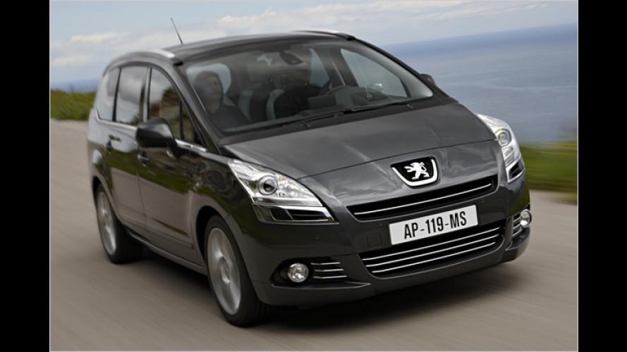 Peugeot 5008: Schnelle Besteller sparen Geld