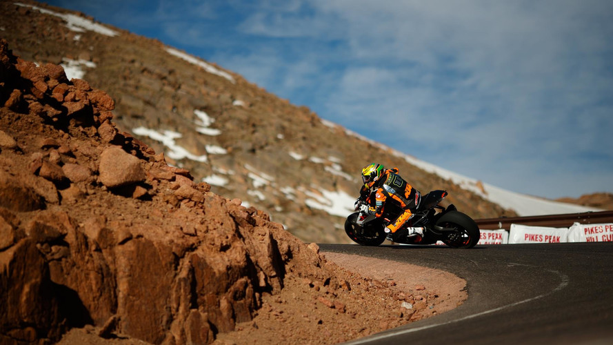 KTM marca un nuevo récord en el Pikes Peak 2017