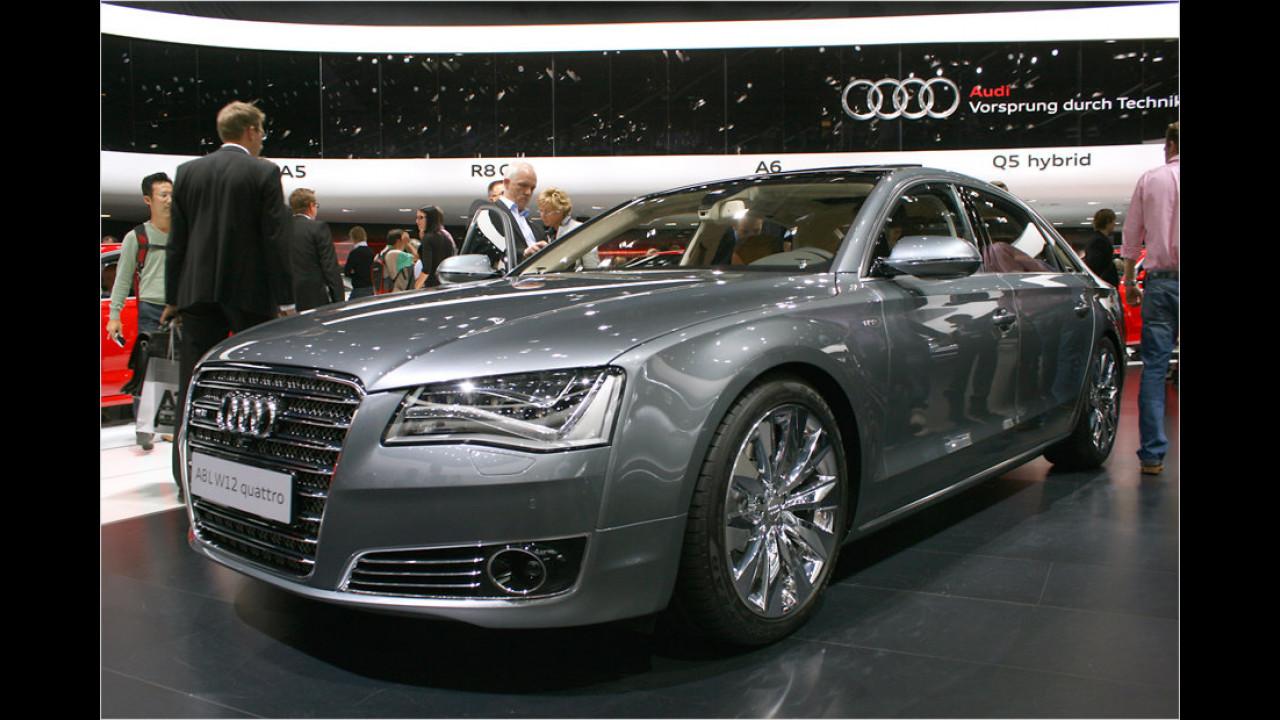 A8 W12 L ,Audi exclusive concept