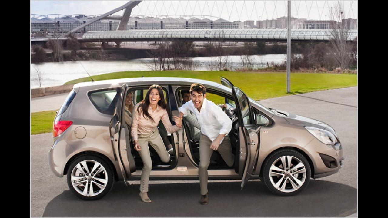 ... wurde der Opel Meriva