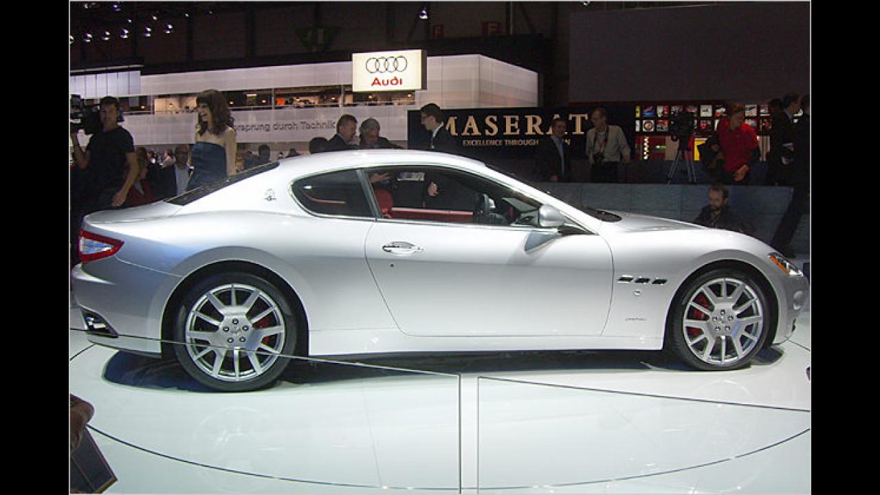Bella Italia: Der 2+2-Sitzer Maserati GranTurismo wurde von Pininfarina designt