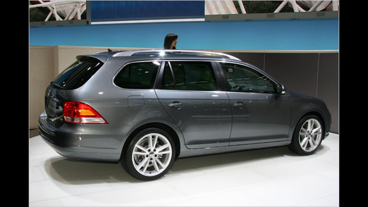 VW stellte den neuen Golf Variant vor, der über ein Ladevolumen von 1.550 Liter verfügt