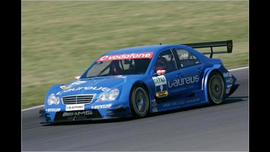 Mercedes versteigert AMG DTM C-Klasse für guten Zweck