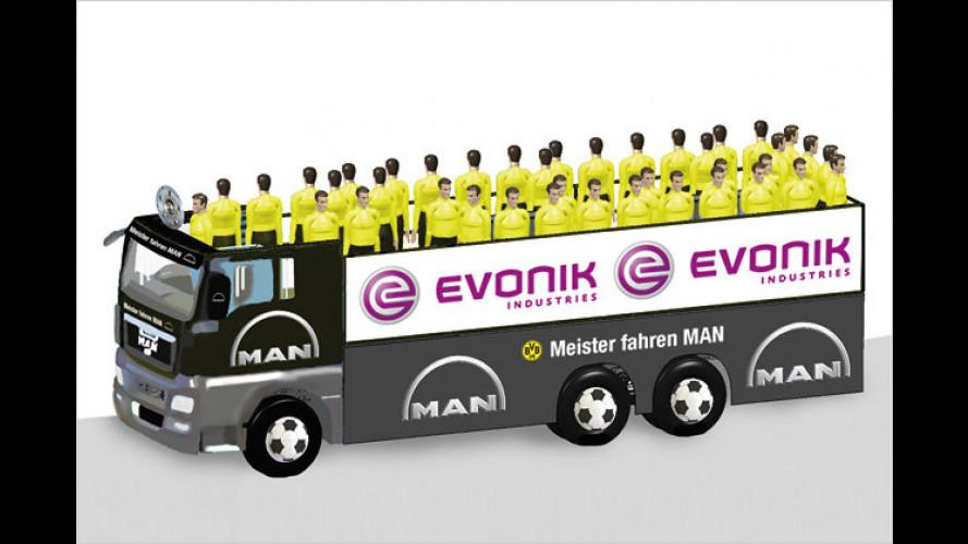 MAN baut spezielles Meister-Mobil für Borussia Dortmund
