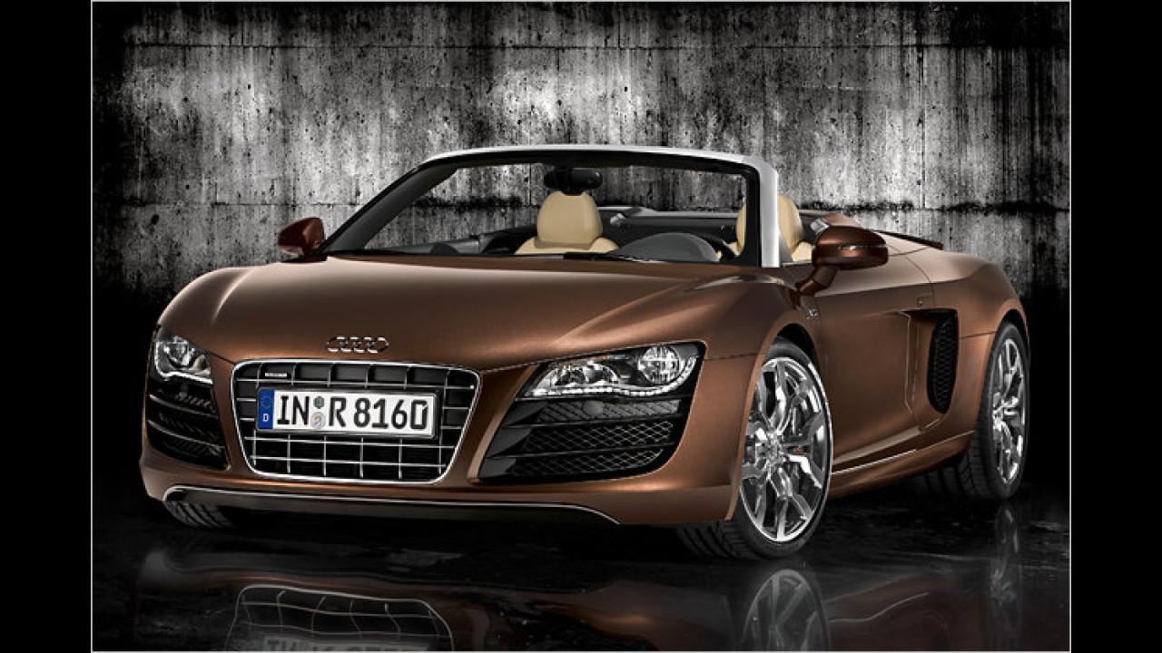 IAA: Audi R8 Spyder