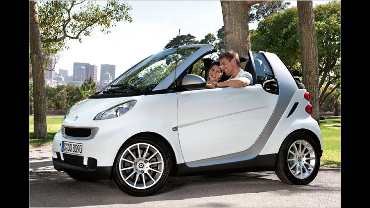 smart fortwo cabrio 0.8 cdi pure softip DPF