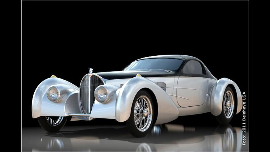 """,Bella Figura"""" Type 57S: Retro-Bugatti aus den USA"""