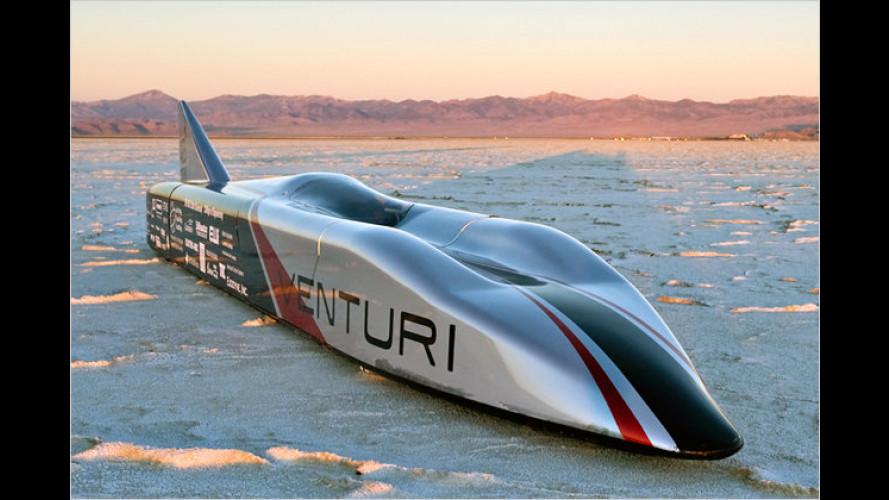 515 km/h: Elektro-Rakete stellt neuen Temporekord auf