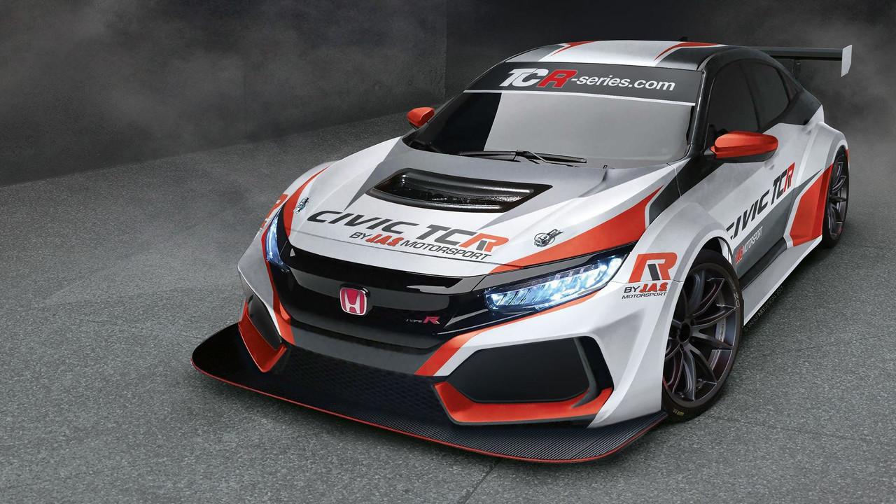 A race-ready Honda