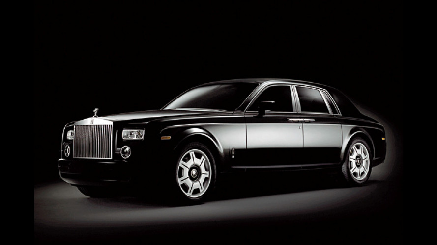 Der schwarze Phantom: Düstere Rolls-Royce-Sonderedition