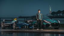 Jaguar Formula E Racer Mitch Evans