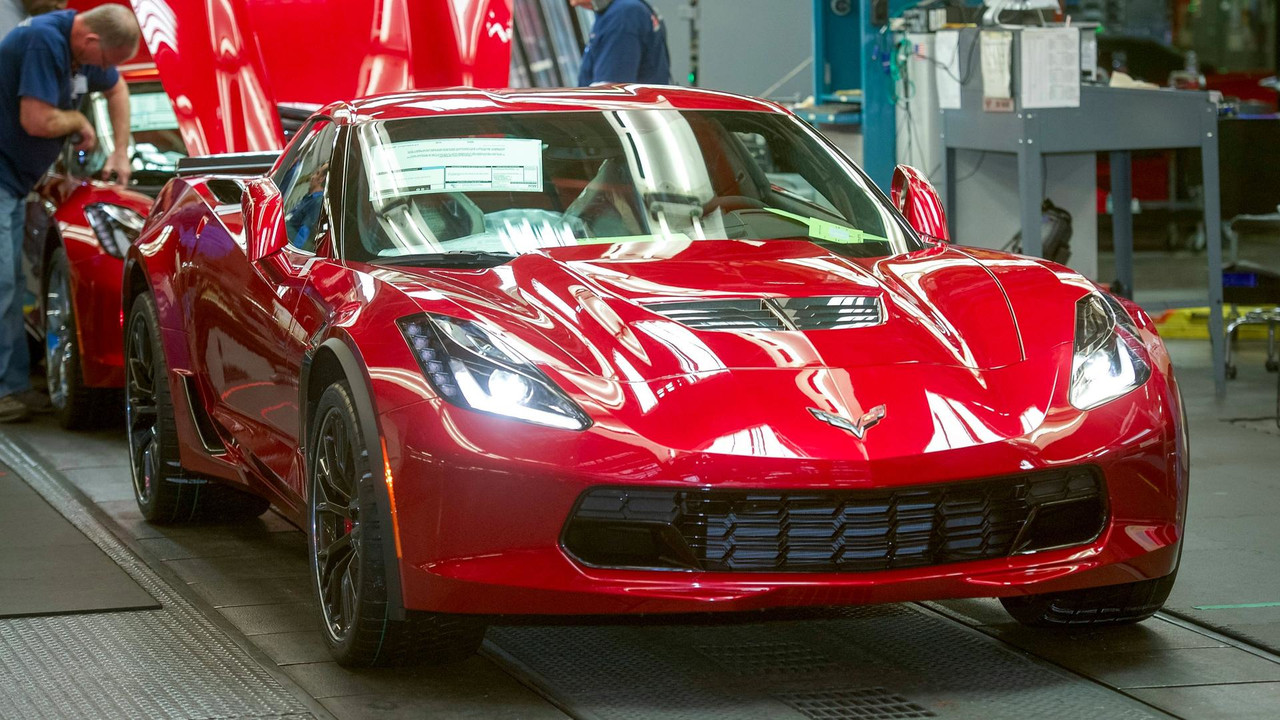 Corvette production