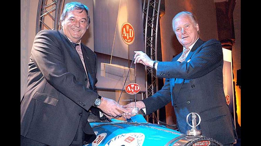 Projekt Bugatti Veyron: Auszeichnung für die große Vision