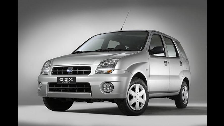 Subaru Justy G3X: Ein Kleinwagen wird erwachsen