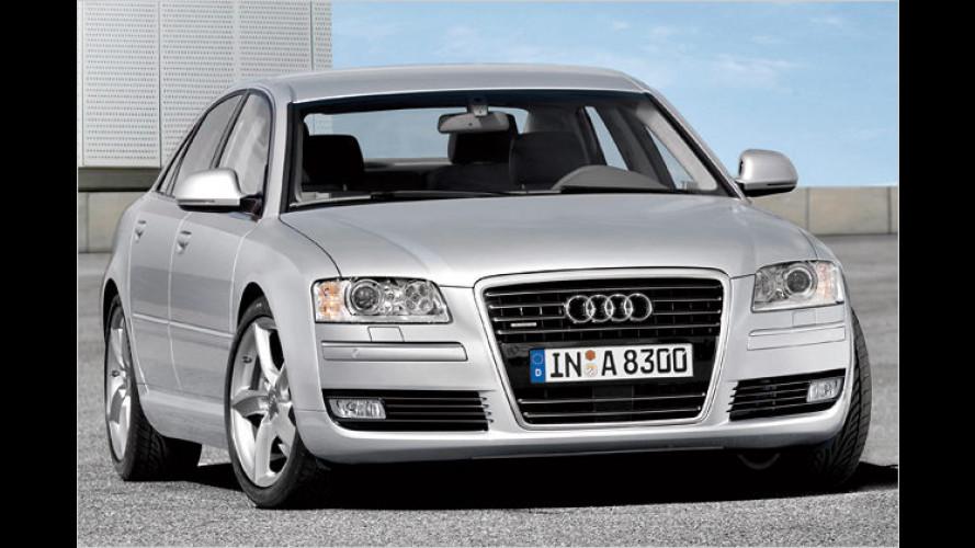 Audi A8: Leichter Feinschliff für den Ingolstädter Edel-Gleiter