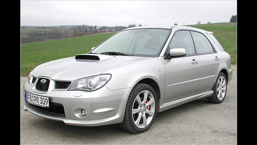 Subaru Impreza 2.5 WRX Sportkombi: Kerniger Boxer