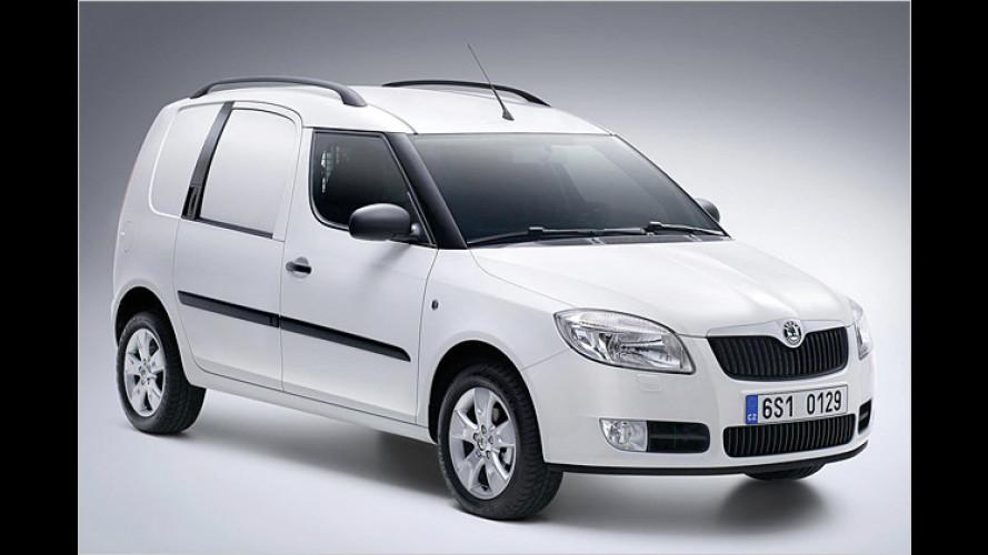 Skoda Praktik: Fahrzeug für Handwerker und Kleinbetriebe