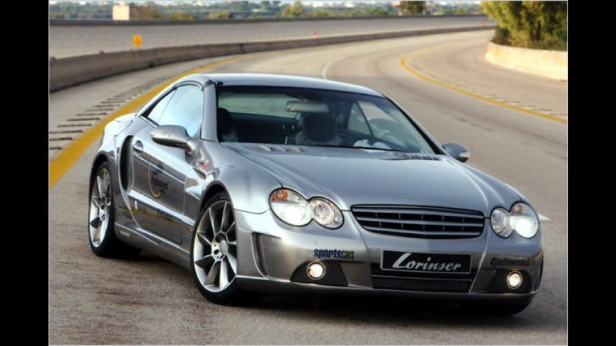 Lorinser katapultiert den Mercedes SL auf 325 km/h