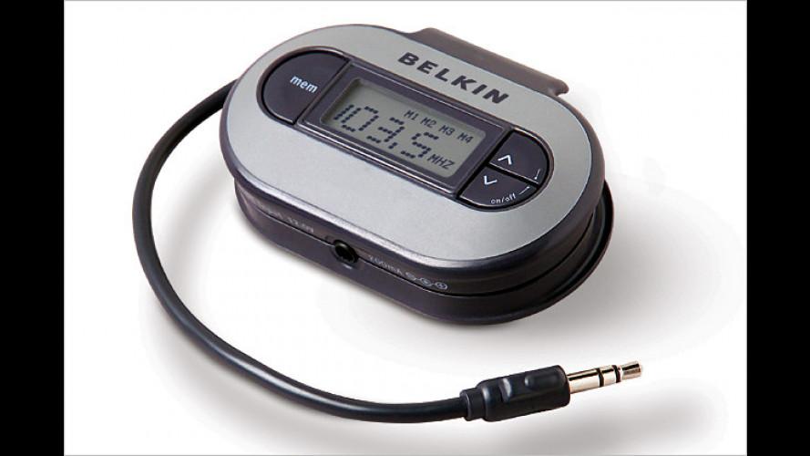iPod: Vier FM-Transmitter für den Musikgenuss im Auto